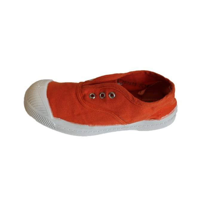 tennis bensimon elly orange fille ou garçon
