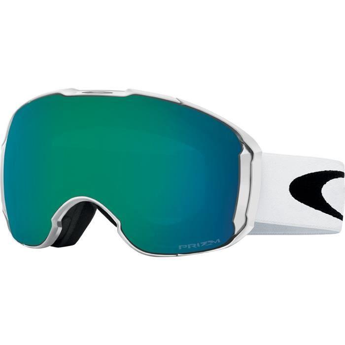 MASQUE - LUNETTES SKI Masque de ski Oakley Airbrake XL Blanc Brillant Pr