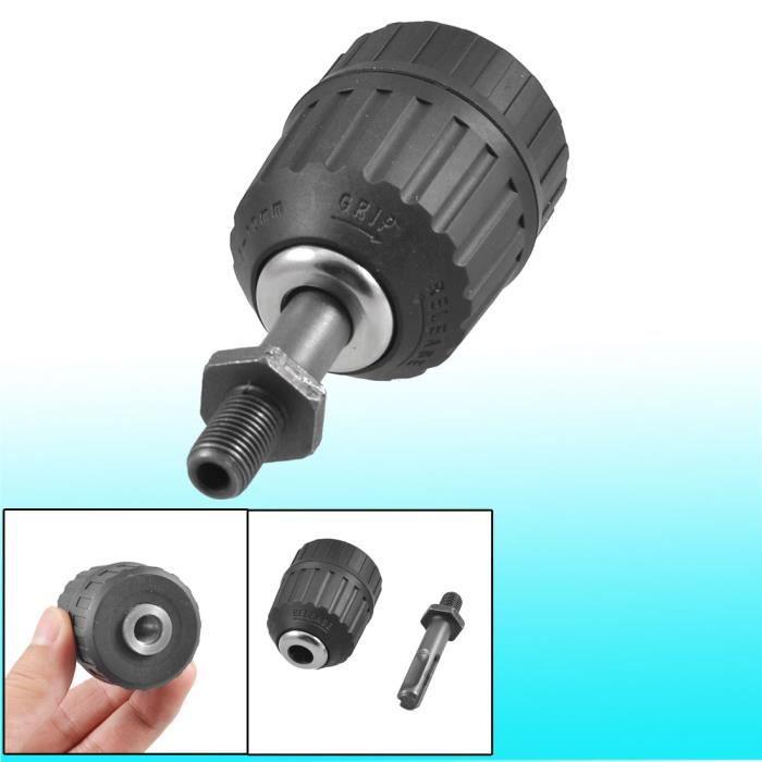 Mandrin de Per/çage 1,5-10mm 3//8-24 UNF avec Adaptateur de cl/é SDS Mandrin de Per/çage