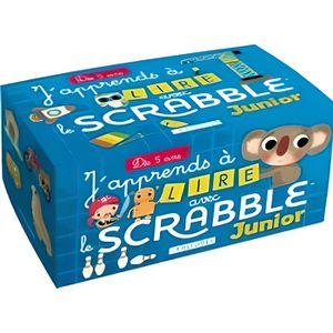 LIVRE JEUX ACTIVITÉS J'apprends à lire avec le Scrabble junior