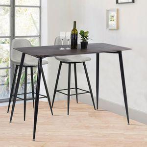 TABLE DE CUISINE  Grande Table de Salle à Manger de Moderne avec Pla