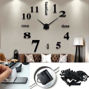 horloge murale design salon achat vente pas cher. Black Bedroom Furniture Sets. Home Design Ideas