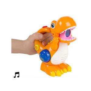 MICRO - KARAOKÉ Dinosaure Enregistreur Vocal à LED -  -