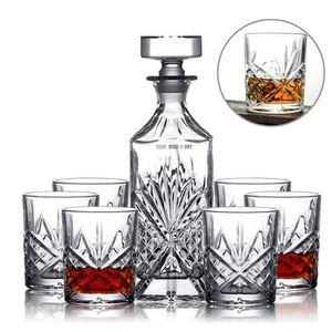 Assortiment de verres Verres à Whisky Design Tete de Mort 700ML en Verre