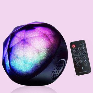 ENCEINTE NOMADE Enceinte Bluetooth Lecteur de Carte Boule Lampe Co
