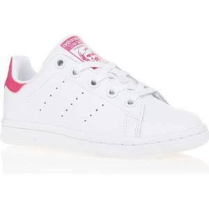 8f85751435390 BASKET ADIDAS Baskets Stan Smith - Enfant - Blanc et rose