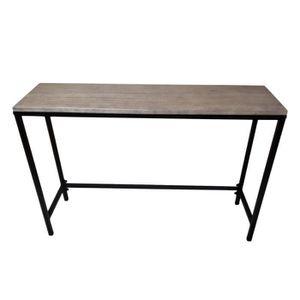 CONSOLE Table de Console Style Industriel Vintage Haute Qu