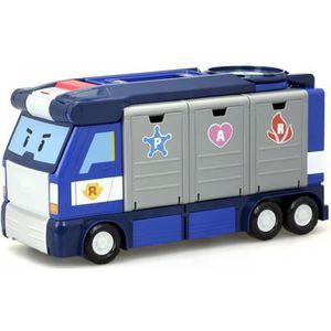 VOITURE - CAMION ROBOCAR POLI Camion Quartier Général Mobile 30 cm