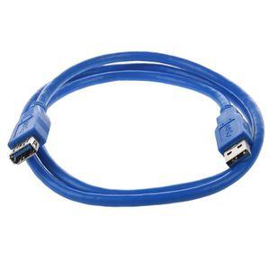 CÂBLE INFORMATIQUE 1M longueur de Cable d'USB 3.0 de l'ordinateur en