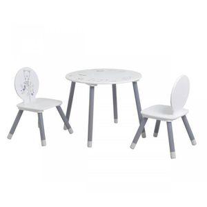 TABLE ET CHAISE Table enfant   2 chaises petit ours