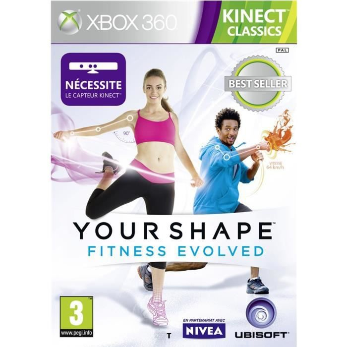 YOUR SHAPE FITNESS EVOLVED KINECT CLASSICS