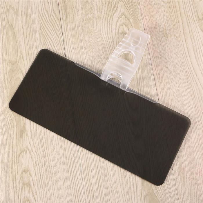 Extenseur de pare-brise teinté anti-éblouissement de voiture - Anti-éblouissement Sun & UV Rays Block Extenseur de visière pour