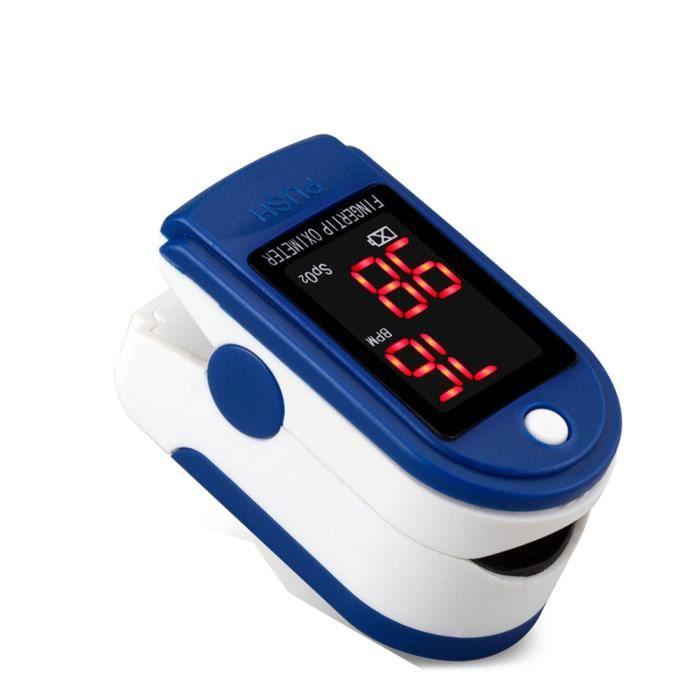 Oxymètre de Pouls Doigt,Oximeter Pulse Portable, Saturation d'Oxygène dans Le Sang,la Remise en Forme et Les Sports extrêmes