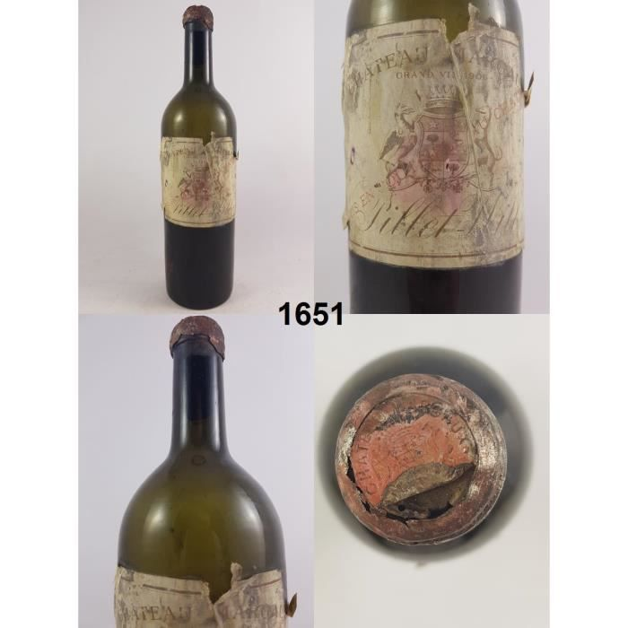 Château Margaux 1906 - N° : 1651, Margaux, Rouge