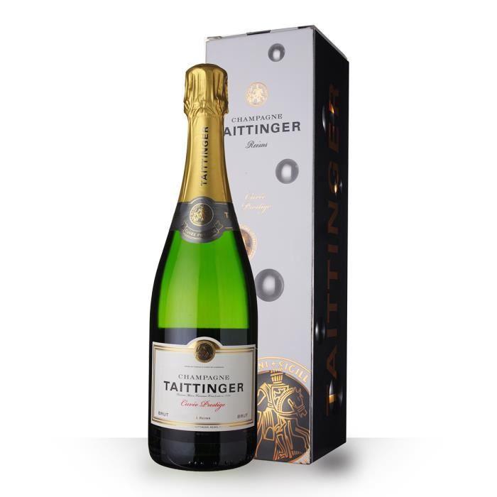 Taittinger Cuvée Prestige 75cl - Etui - Champagne