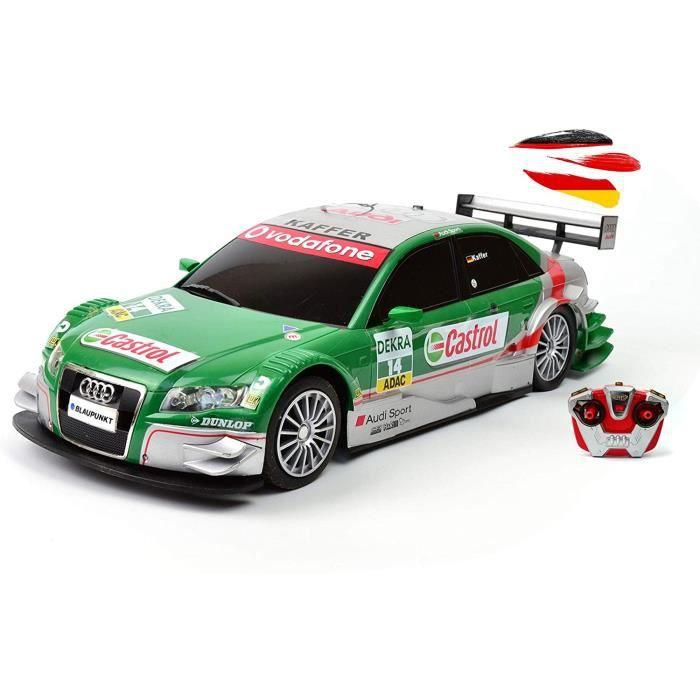 V&eacutehicule radiocommandé sous licence d'origine compatible avec Audi A4 DTM design rallye, mod&egravele de voiture, 210