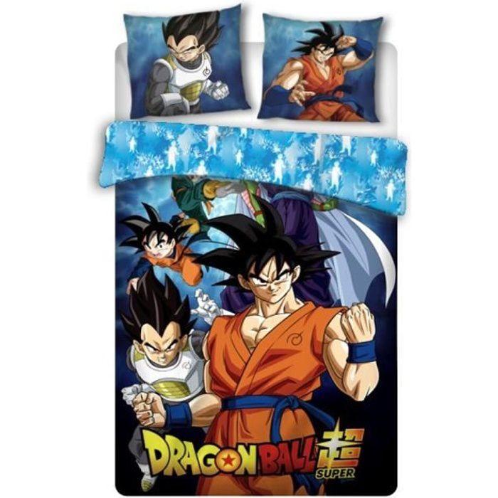Parure de lit enfant coton bio Dragon Ball