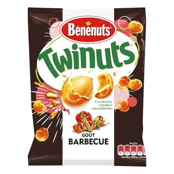 Bénénuts - Bénénuts Twinuts Goût Barbecue 150g (lot de 3)
