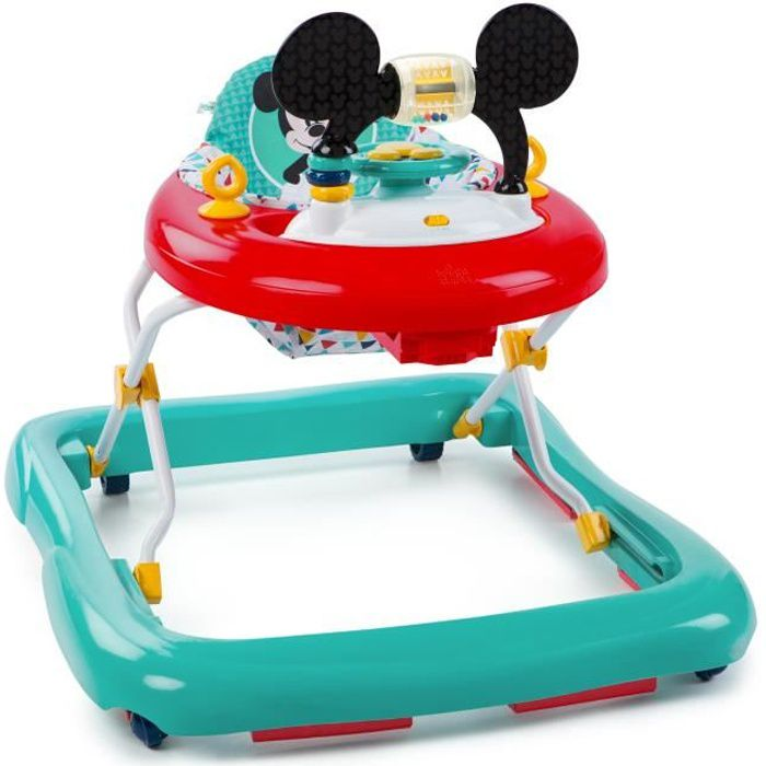 Trotteur Happy Triangles Mickey Mouse - Sons et lumières - DISNEY BABY
