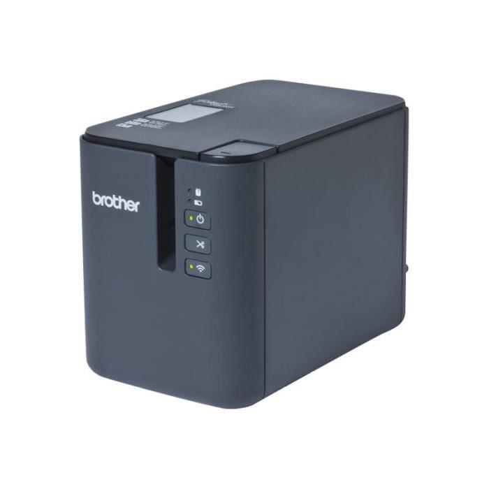 Brother P-Touch PT-P900W Imprimante d'étiquettes transfert thermique Rouleau (3,6 cm) 360 x 720 dpi jusqu'à 60 mm-sec USB 2.0,…