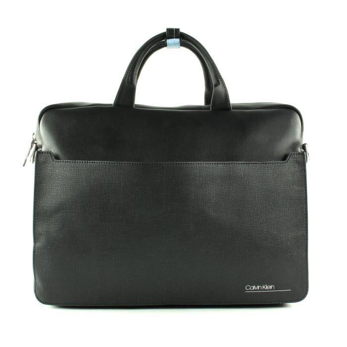 Calvin Klein CK Slivered 2G Laptop Bag Black [78241]