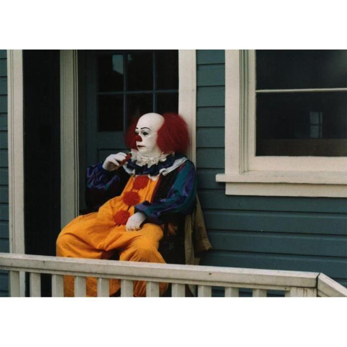 Poster Affiche Tim Curry Clown IT Stephen King Cinema Film d'Horreur 31cm x 43cm