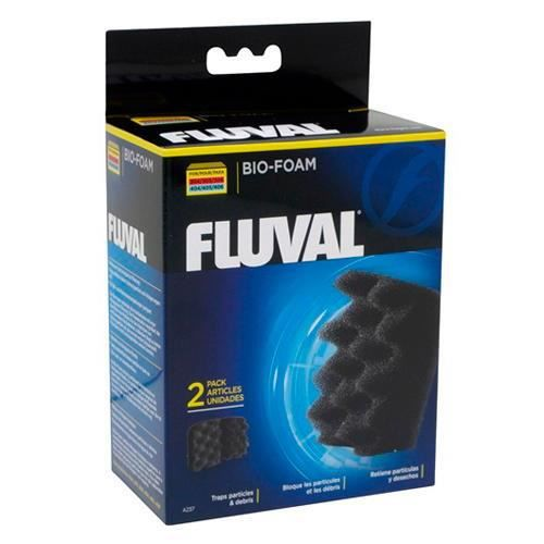 FLUVAL 2 blocs de mousses bio 306 406 - Pour aquarium