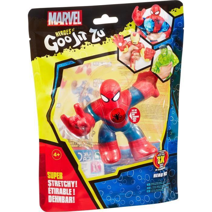 Goo Jit Zu Marvel - 41137 - Figurine 11cm Spiderman