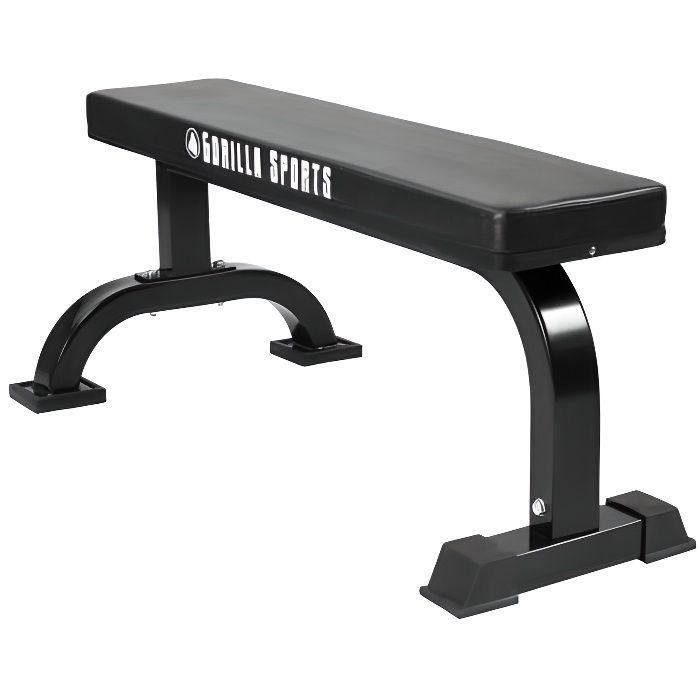 Banc de musculation avec logo Gorilla Sports GS002