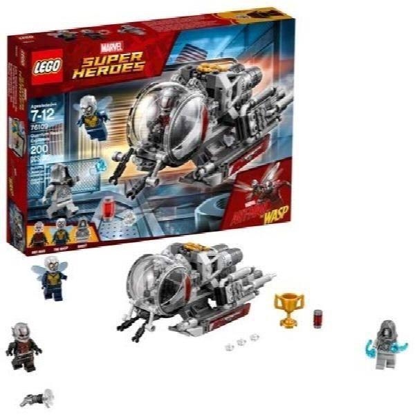 Jeu D'Assemblage LEGO Marvel Ant-man Quantum Realm Explorateurs 76109 Set de construction (200 pièces) NH3EA