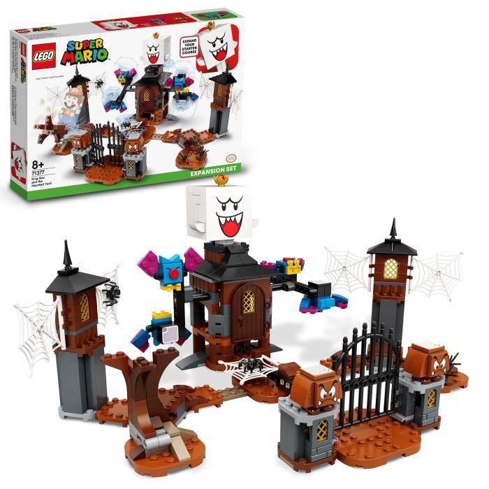 LEGO® Super Mario™ 71377 Ensemble d'extension Le jardin hanté du Roi Boo