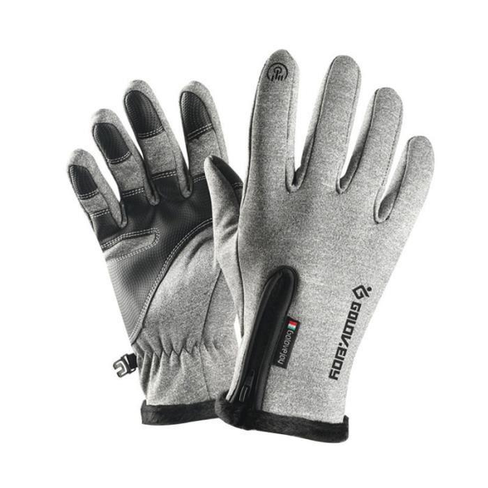 Gants de vélo Toucher des gants pour écran imperméables et chauds Vélo Courir Escalade SOUS-GANTS THERMIQUES - GANTS THERMIQUES