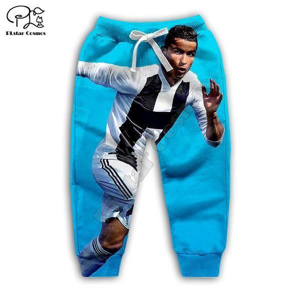 Streetwear homme,Cristiano Ronaldo-sweat-shirt 3d pour enfants, sweat-shirt à manches longues avec fermeture éclair, survêtement, p