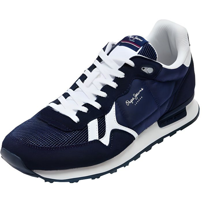 Baskets Hommes Pepe Jeans ref 51907 Navy