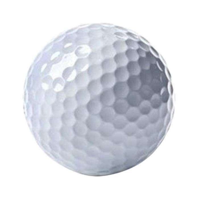 1 Pc balle de Golf professionnelle 2 couches d'entraînement de golf de pratique de accessoire de pour les amateurs BALLE DE GOLF