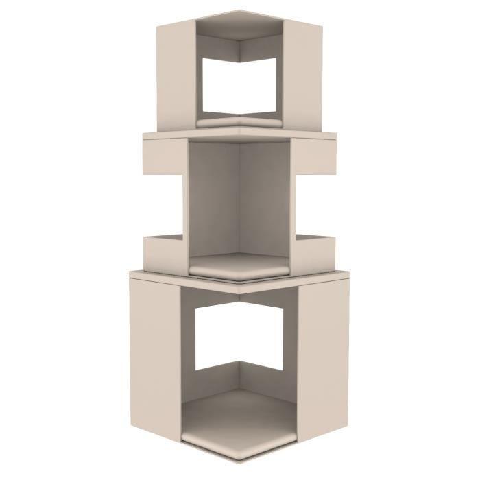 TRIXIE Cat Tower Lilo - Blanc - Pour chat