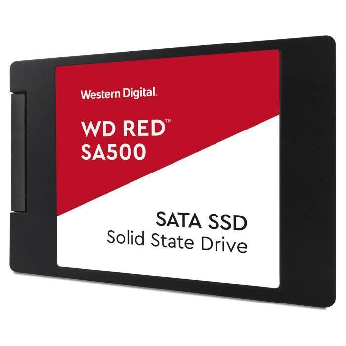 WESTERN DIGITAL Disque SSD SATA NAS Red™ SA500 (WDS400T1R0A)