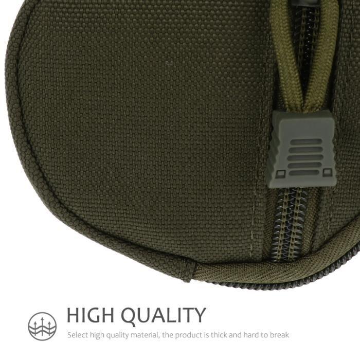 Pochette de clé de pièce de monnaie de sac de taille tactique 1pc pour la randonnée militaire de camping SAC A DOS DE RANDONNEE