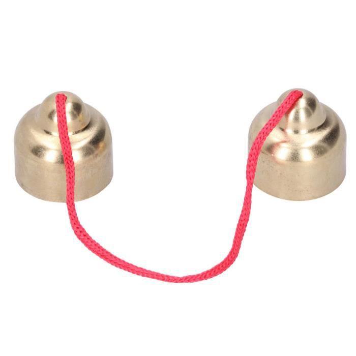 Vintage Bells rappel en acier inoxydable décoration de la maison fournitures d'instruments de musique -LAF