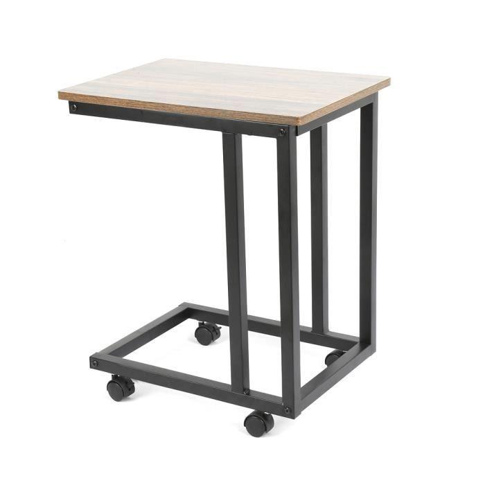 Petite Table Basse A Roulette
