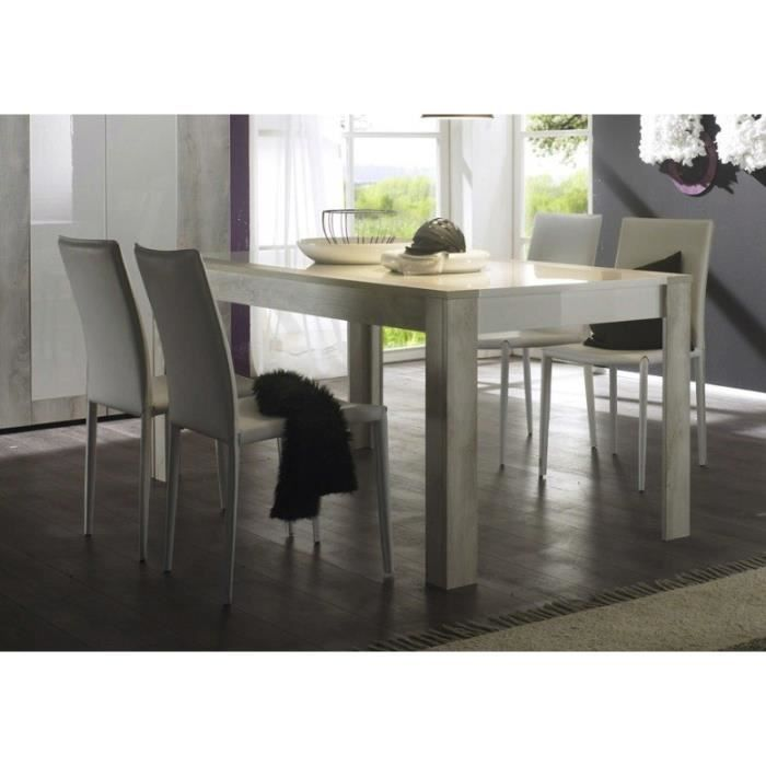 Table de salle manger design marika l 180 x p 90 x h for Table de salle a manger 3 metres