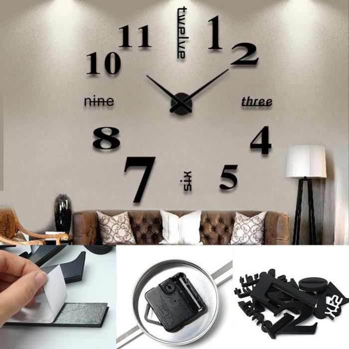 horloge murale. Black Bedroom Furniture Sets. Home Design Ideas
