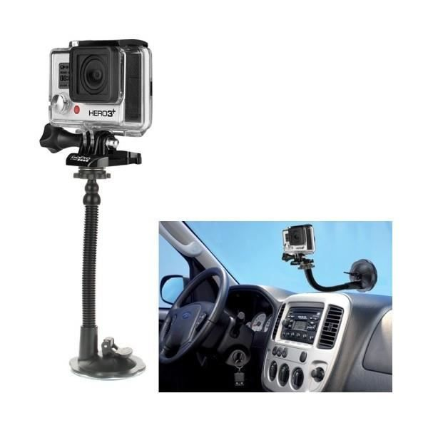 ventouse voiture pour gopro hero camera achat vente fixation rotule cdiscount. Black Bedroom Furniture Sets. Home Design Ideas