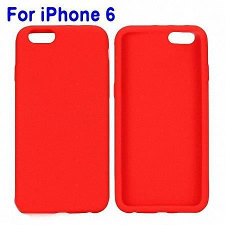 Iphone 6 coque housse silicone rouge achat coque for Housse silicone iphone 7