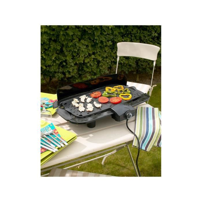 barbecue lectrique avec cuisson sur plancha achat vente plancha barbecue charbon de bois. Black Bedroom Furniture Sets. Home Design Ideas