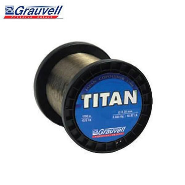 0,60 MM- 27 kg // 59,4 Lb NYLON GRAUVELL TITAN 100 M
