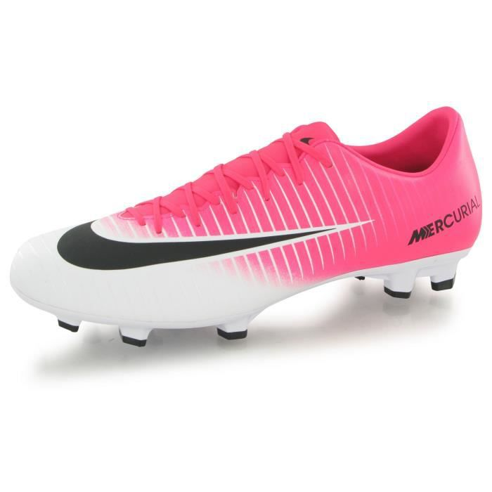 5fd00459532 CHAUSSURES DE FOOTBALL Nike Mercurial Victory Vi Racer Fg rose