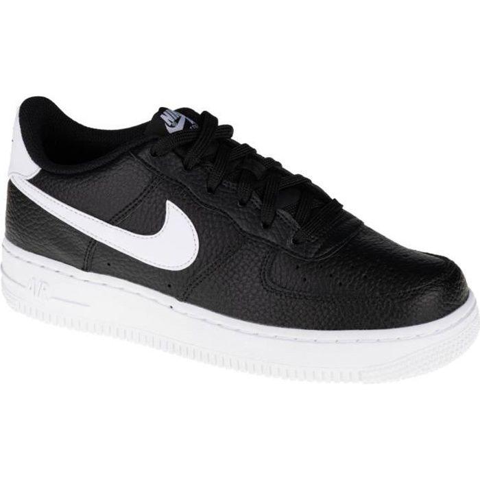 Nike Air Force 1 GS CT3839-002, Enfant, Noir, snea