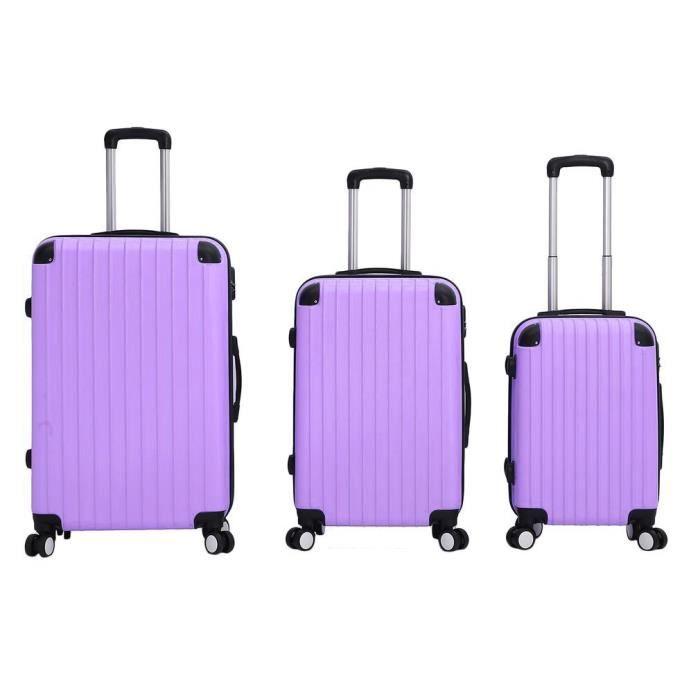 SET DE VALISES Lot de 3 pcs Valises bagages pour vouyage avec Ser