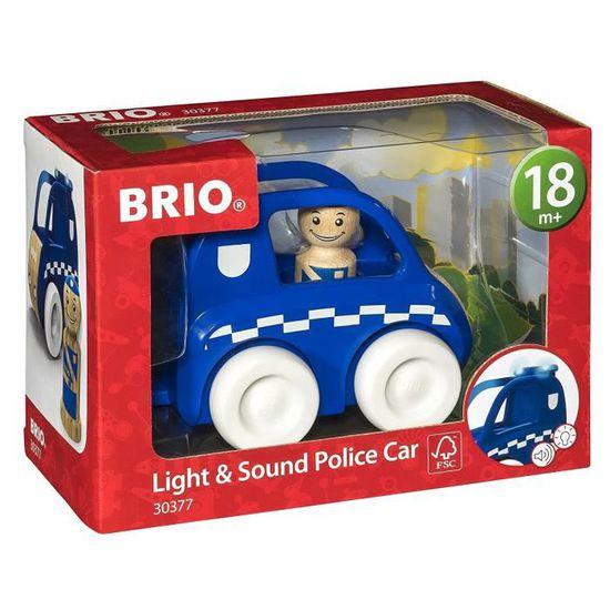 MY HOME TOWN VOITURE DE POLICE SON ET LUMIERE BRIO